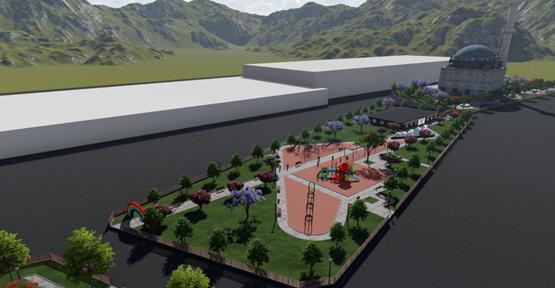 Eyyübiye belediyesi, yaşam parkı çalışmalarına başladı