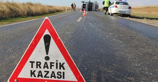 Urfa'da otomobil şarampole devrildi, 1 ölü, 3 yaralı