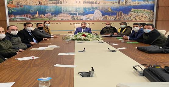 Urfa'da  değerlendirme toplantısı yapıldı