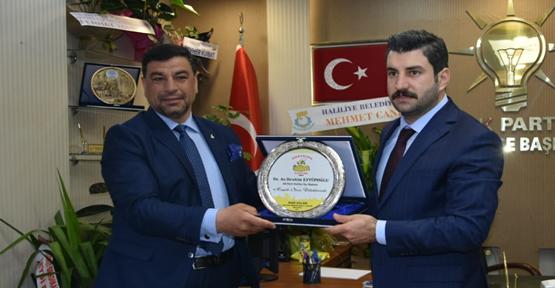 Başkan Aslan'dan  Eyyüpoğlu'na ziyaret