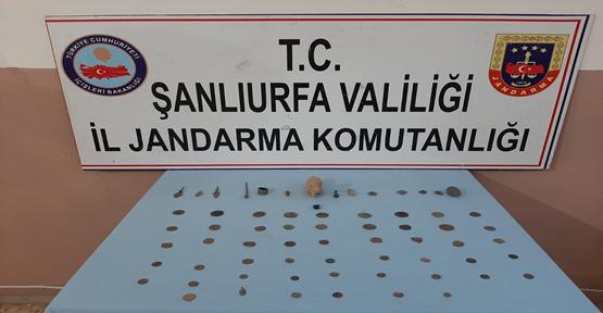 Şanlıurfa'da tarih eser kaçakçılığı, 1 gözaltı