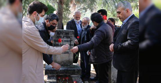 Urfa'nın unutulmaz ismi mezarı başında anıldı