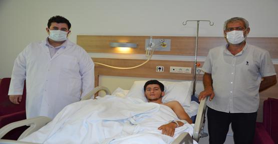 Mardin'de yaralandı: Urfa'da sağlığına kavuştu