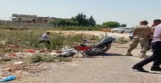 Şanlıurfa'da otomobil ile motosiklet çarpıştı, 3 yaralı