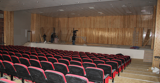 300 Kişilik Çok Amaçlı Kültür Merkezi Yapılıyor
