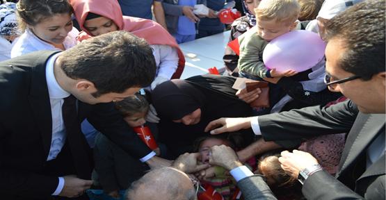 6 bin Suriyeli çocuğa aşı