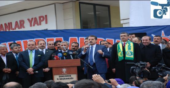 Ak Parti Şanlıurfa'da gövde gösterisi yaptı