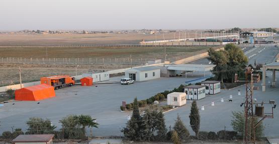 Akçakale Sınır Kapısı'nda 'Kimyasal' Önlemi