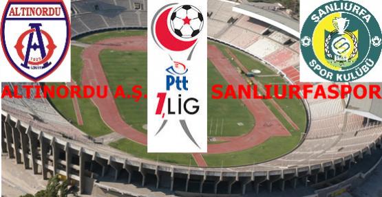 Altınorduspor 1 0 -Şanlıurfaspor