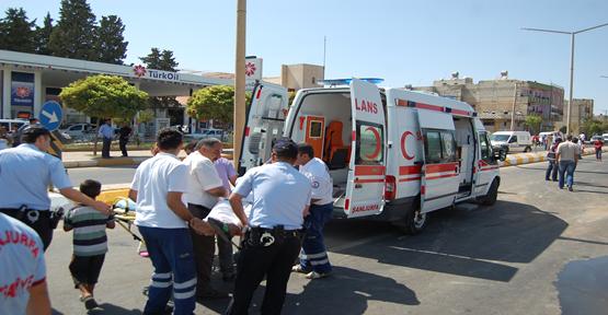 Araç takla attı; 2 kişi yaralandı