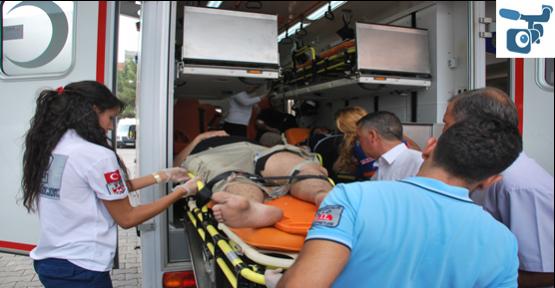 Aracı arkadan çarptı; 4 yaralı