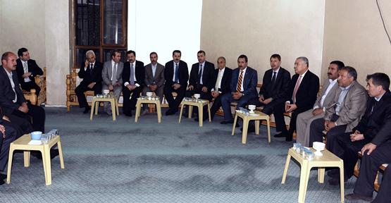 Bakan'dan Ticaret Borsası Meclis Başkanı'na Taziye Ziyareti