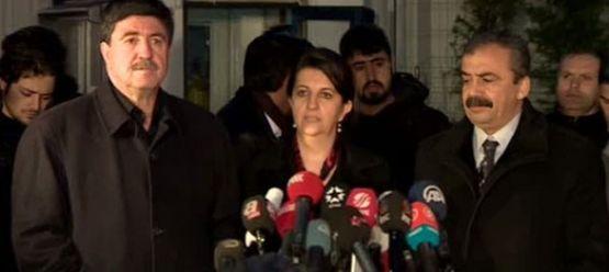 BDP Heyeti İstanbul'a Döndü