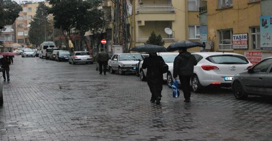 Beklenen yağmur yağdı