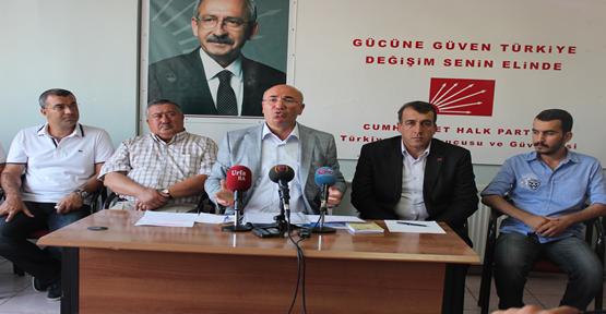 CHP'li Tanal'dan Urfa Milletvekillerini kızdıracak açıklama