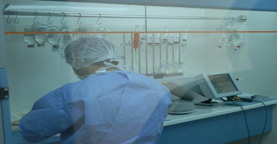 Çocuk Hastanesinde TPN Ünitesi 24 Saat Hizmet Veriyor