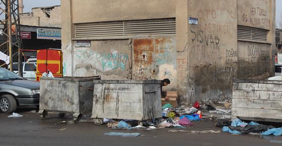 Çöp toplayan çocukların sayısı artıyor