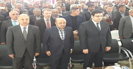 Döngeloğlu Suruç'ta vatandaşlara seslendi
