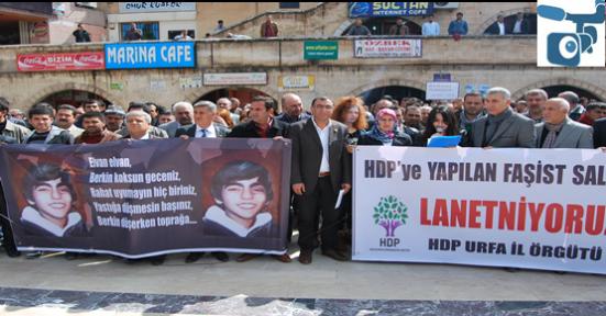 Elvan ve HDP Saldırıları Kınandı