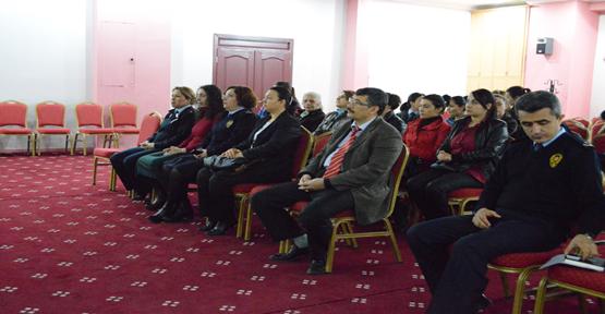 Emniyet teşkilatına seminer