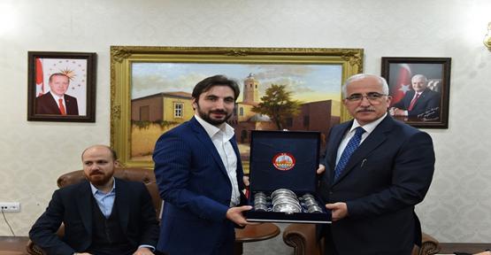 Erdoğan Vali Tuna'yı ziyaret etti