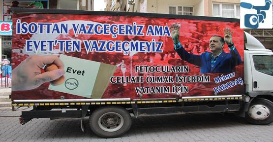 Eski Muhtar Türkiye için 'EVET' dedi