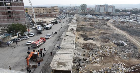 Eski Sanayi'de kentsel dönüşüm için yıkım başladı