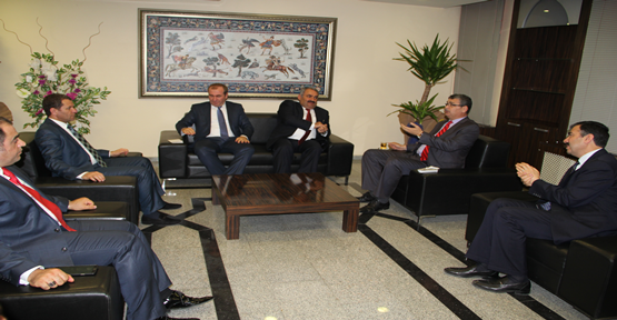 Etyemez'den Başkan Güvenç'e Ziyareti