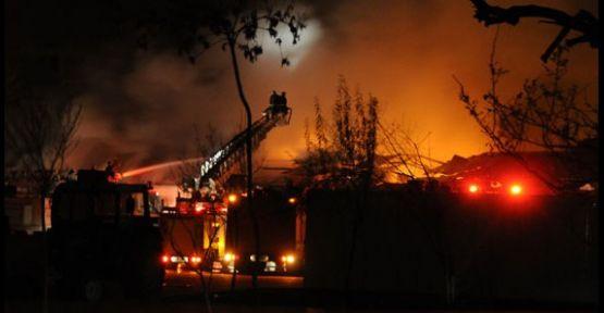 Evde Yangın Çıktı : 5'i çocuk 6 ölü