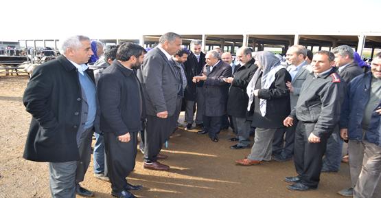 Fakıbaba'dan Tarım Kent Kompleksine Ziyaret