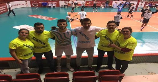 Haliliye Belediyesi Voleybol Finalde Şampiyon Oldu