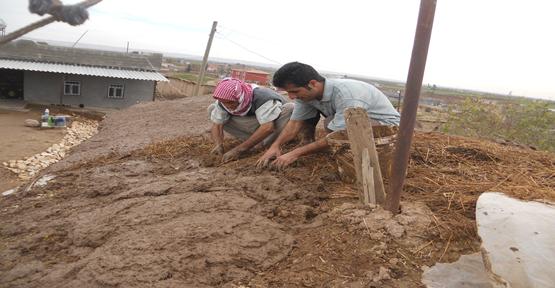 Harran'da Çamurlu sıva