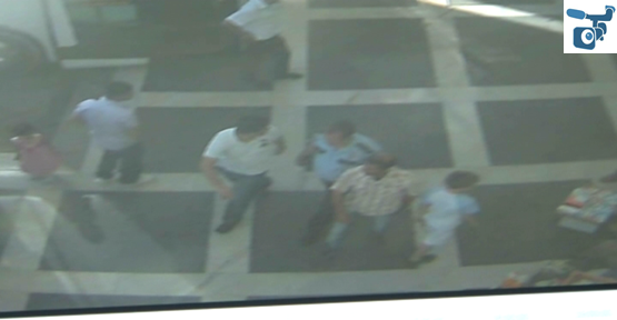 Hırsızlık, Güvenlik Kamerasına Yansıdı
