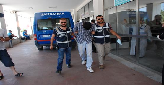 Hırsızlık Şüphelisi Gazetecilere Saldırdı