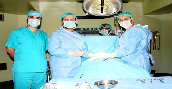 (idrar yolu kelepçesi) yerleştirme ameliyatlarına başlandı