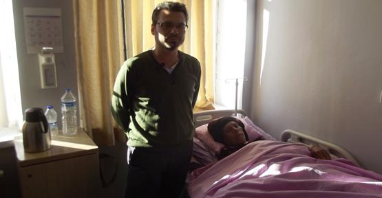 İlk kez Suriyeli kadına yapıldı