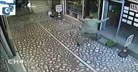 İşyerine kurşun yağdırdı