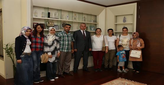 Kadınlardan Başkan Zolan'a Ziyaret