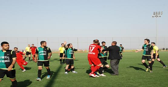 Karakoprü - Suruç gençlik Maçı'nda gerginlik