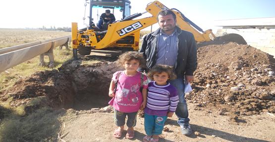Köylerde kanalizasyon çalışmaları başladı