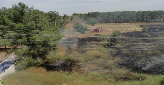 Meslek Yüksekokulunda  Yangın Çıktı