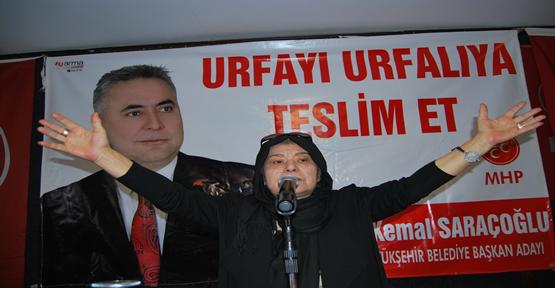 MHP'li  Kadınların Gövde Gösterisi