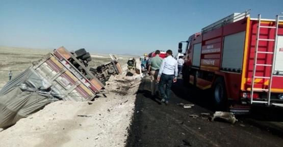 Urfa Minibüsü içinde sıkışan 10 kişi öldü