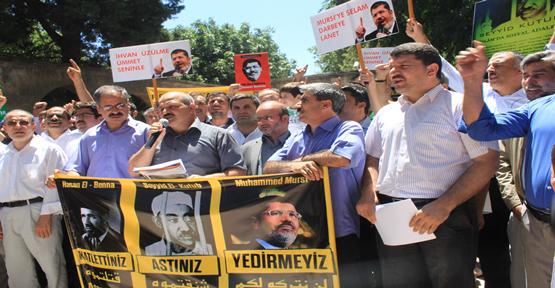 Mursi'ye Destek İçin Basın Açıklaması Yapıldı