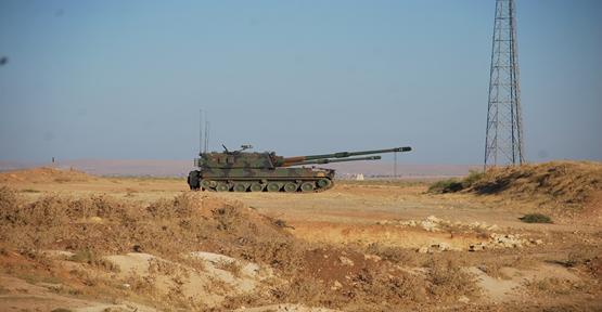Namluların yönü Suriye'ye çevrili