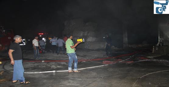 Organizede Fabrika Yangını
