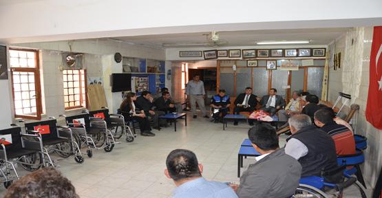 Polis Haftasında Engelliler Unutulmadı