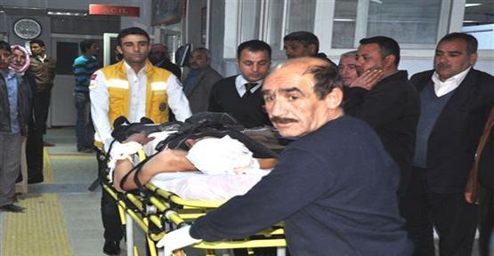 Rakka'da Yaralanan 5 Suriyeli Türkiye'ye Getirildi