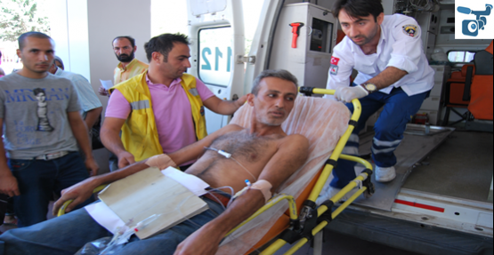 Roket Ceylanpınar'da Bir Eve Düştü: 4 Yaralı