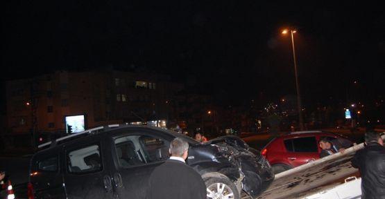 Şanlıurfa da Alkollü Sürücü Kaza Yaptı:1 Yaralı